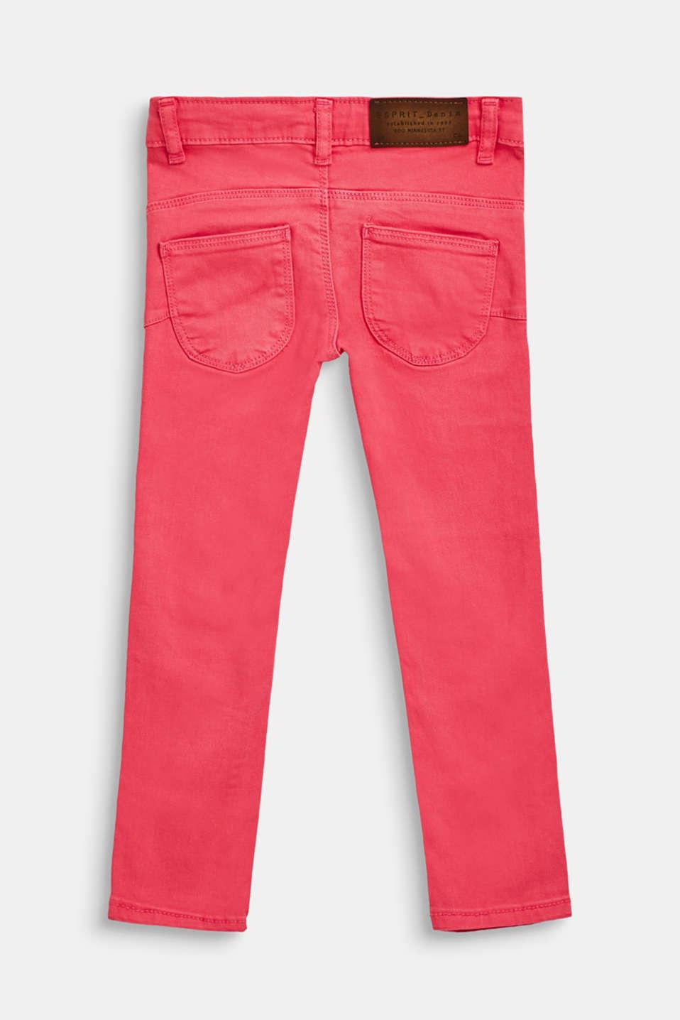 Pants denim, LCDARK PINK, detail image number 1