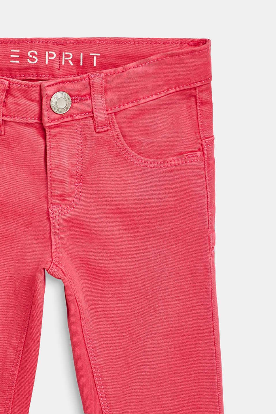 Pants denim, LCDARK PINK, detail image number 2