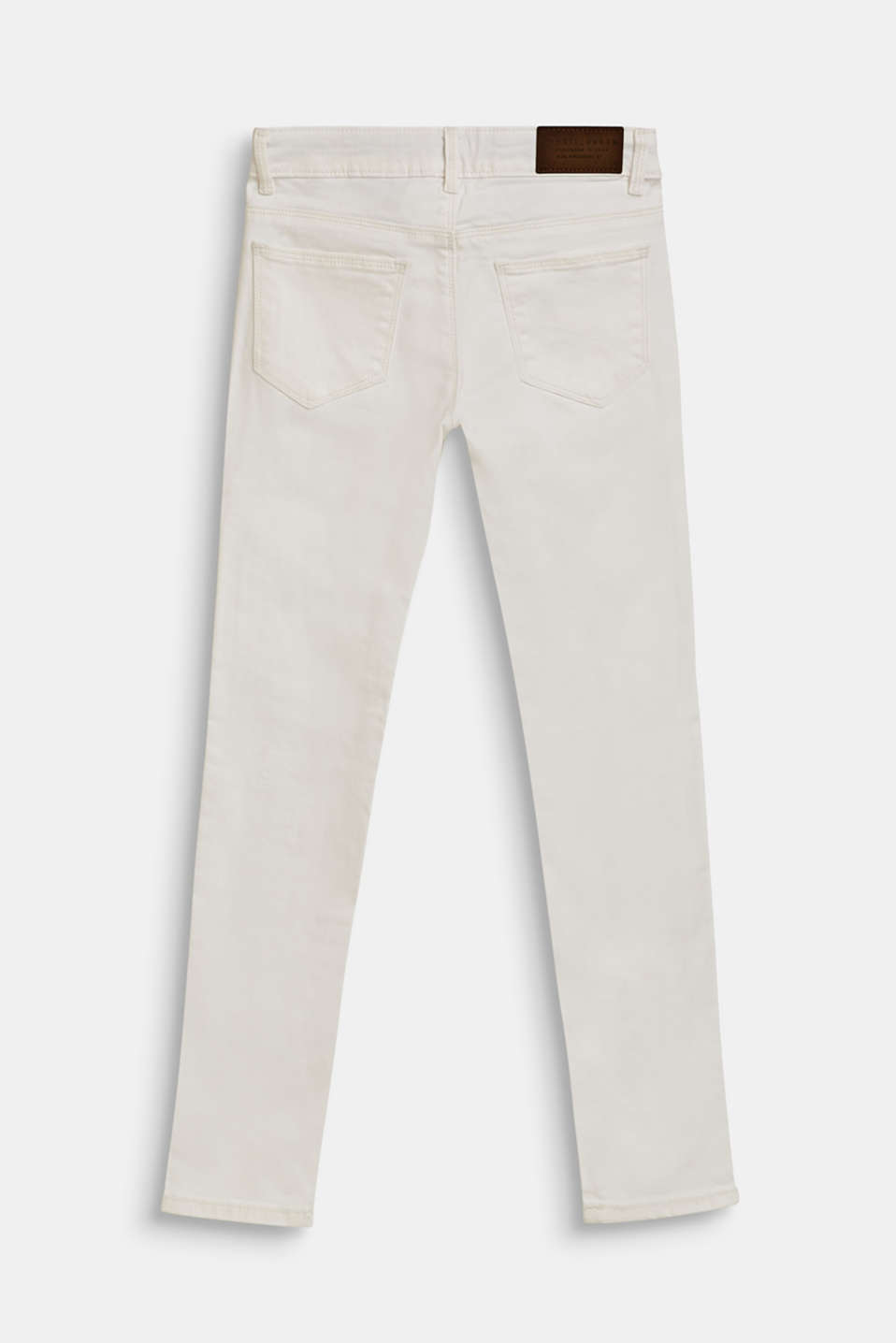 Stretch jeans with an adjustable waist, LCWHITE, detail image number 1
