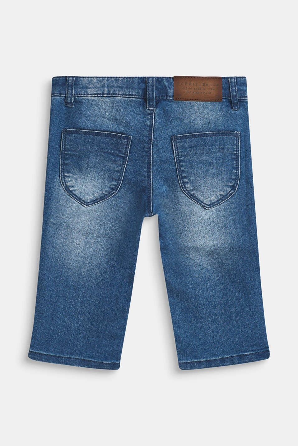 Super stretch jeans, MEDIUM WASH DE, detail image number 1