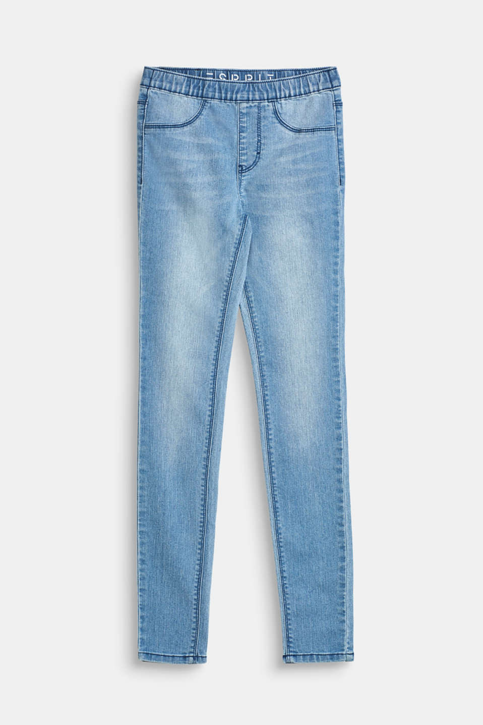 Esprit - Jegging met stretch en elastische band