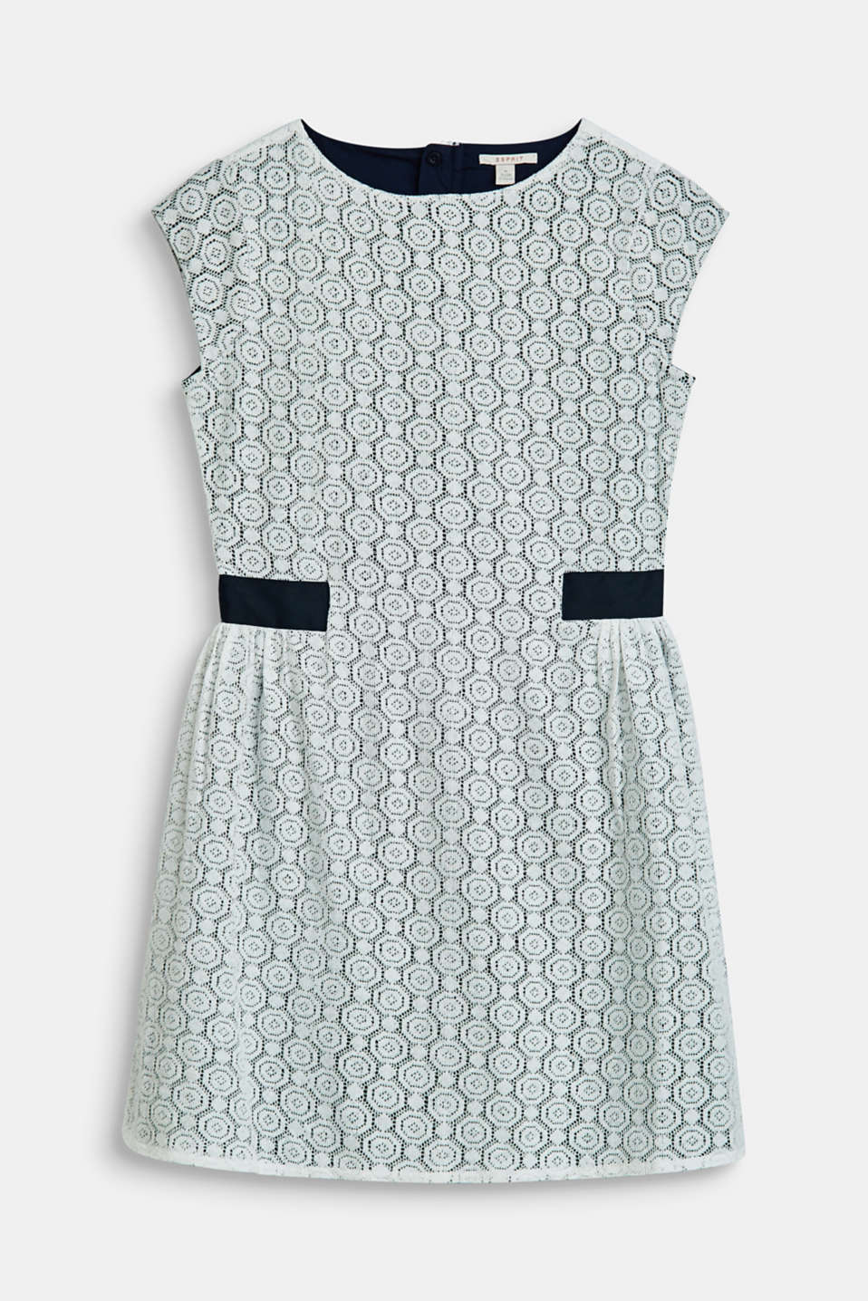 Esprit - Lace dress with cotton lining