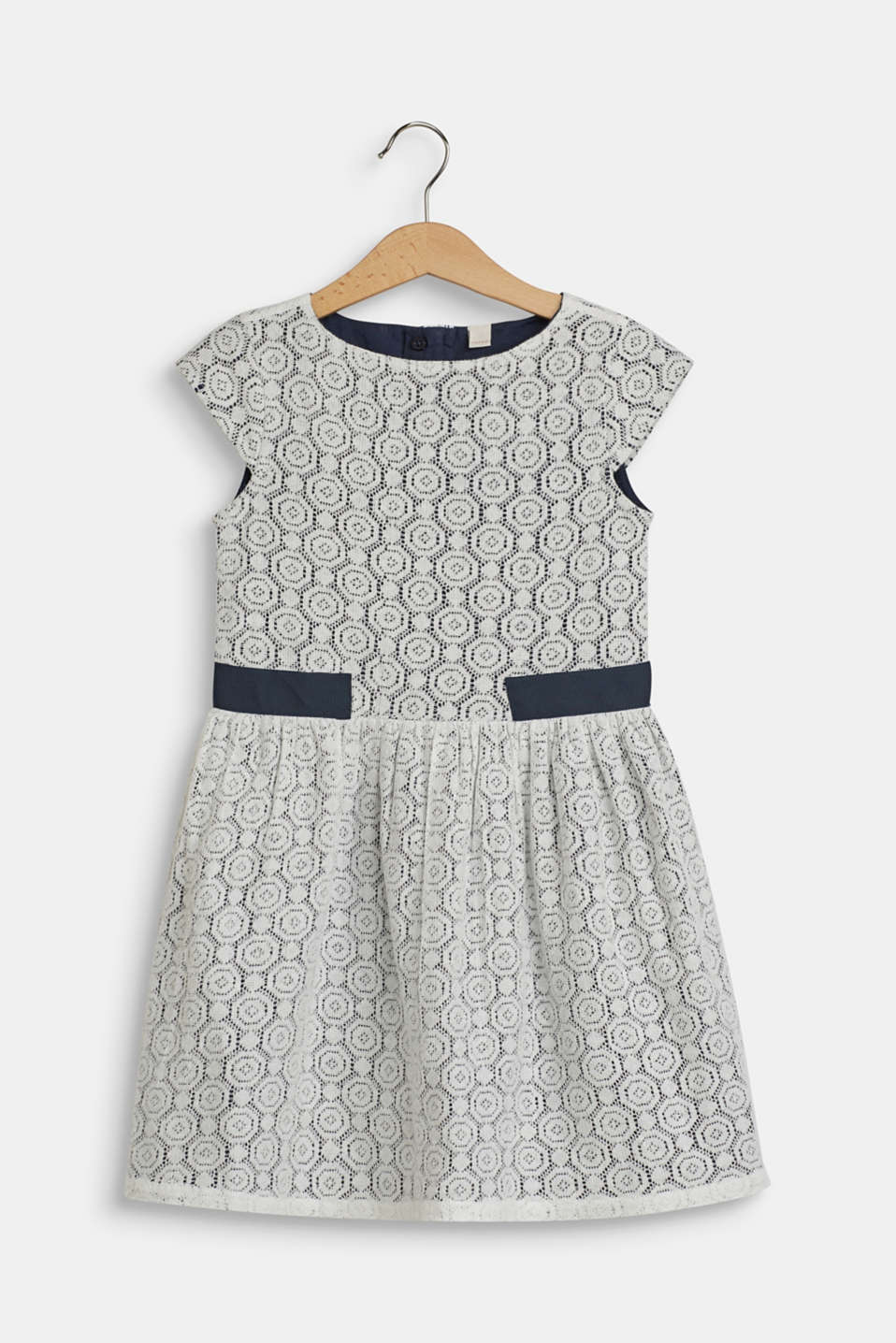 Esprit - Lacy dress with cotton lining