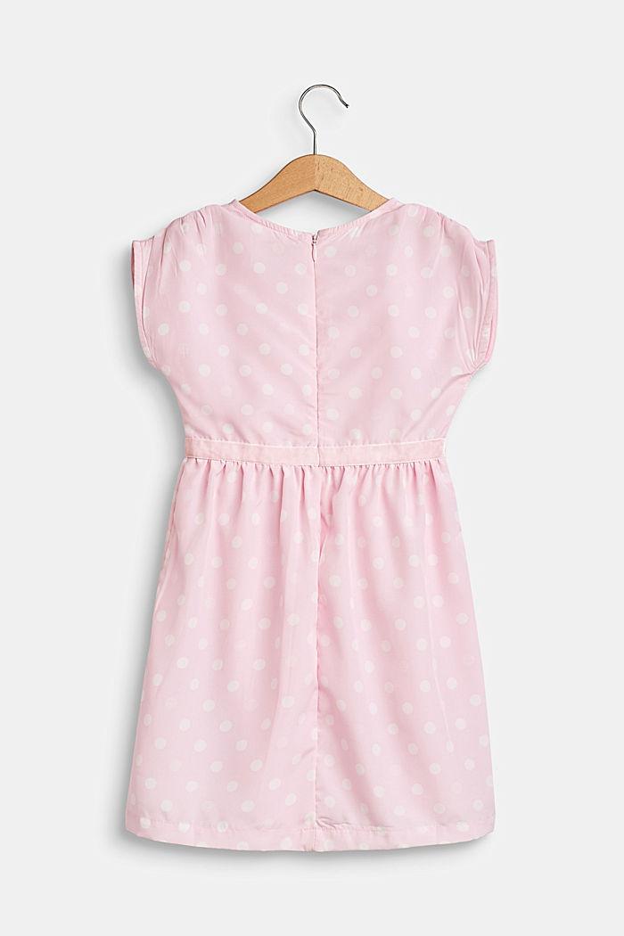 Feestelijke jurk met stippen en een katoenen voering, BLUSH, detail image number 1