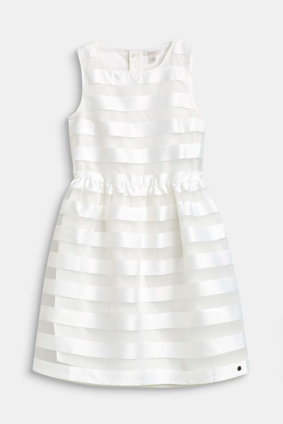 Esprit - Formal dress with shiny stripes