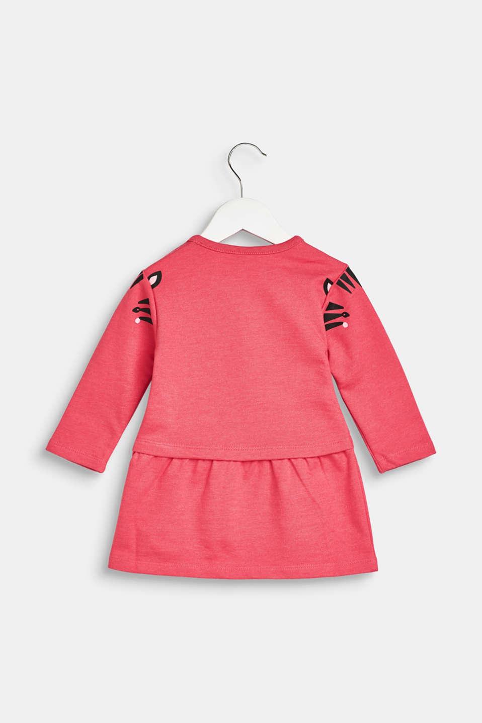 Dresses knitted, LCDARK PINK, detail image number 1