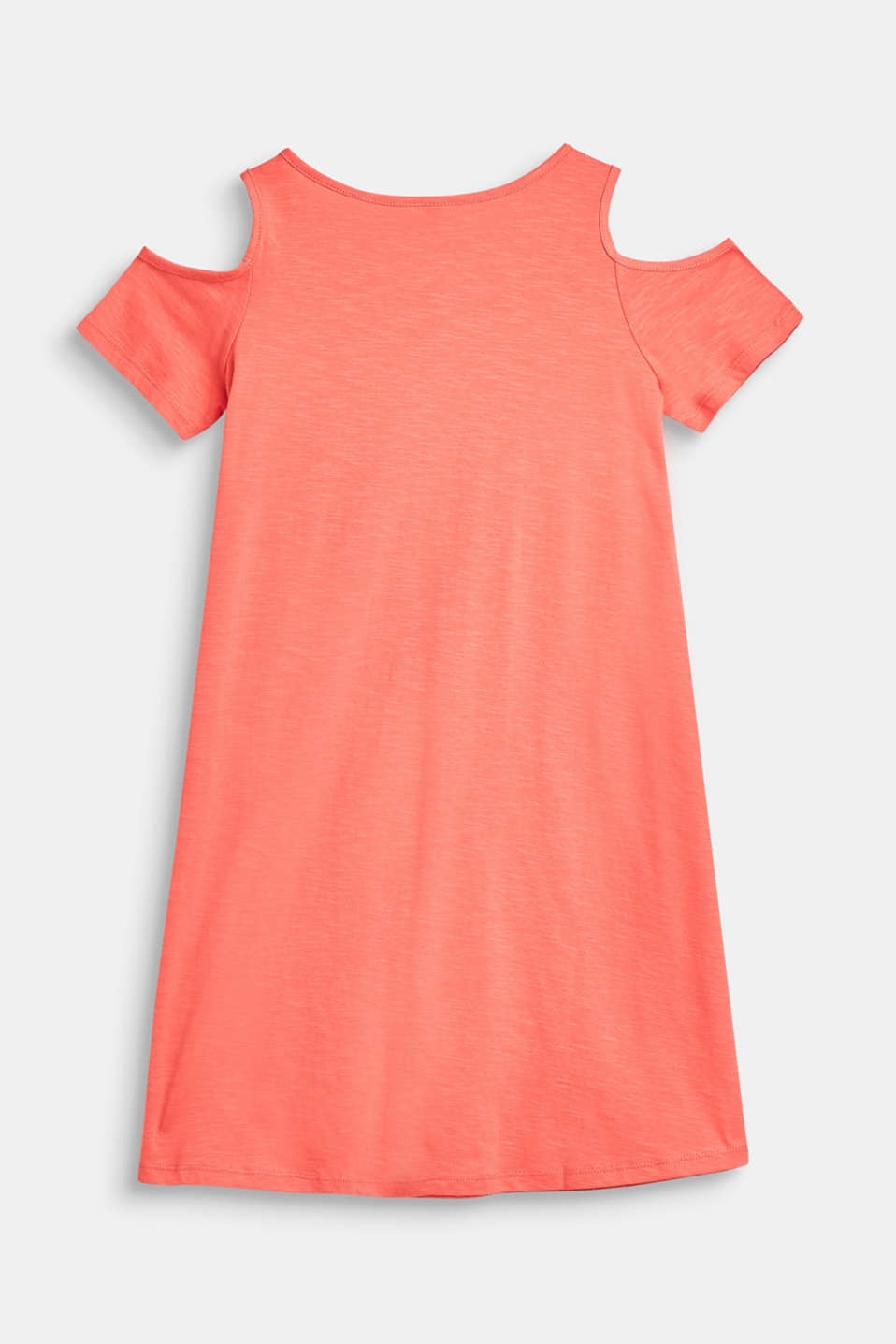 Slub dress with a glittering print, 100% cotton, LCCORAL, detail image number 1
