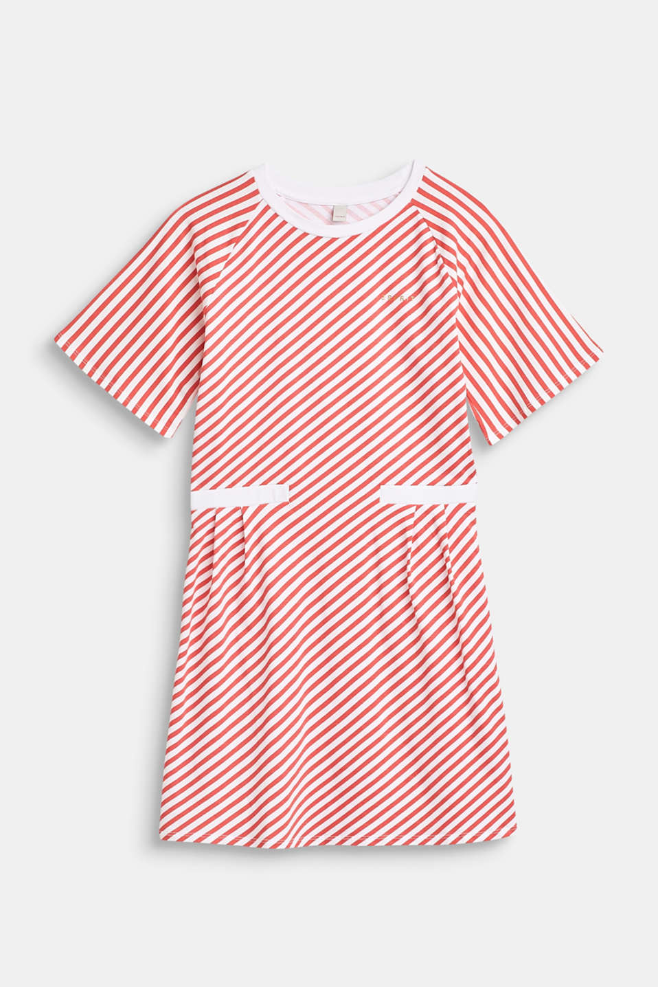 Striped stretch jersey dress, LCCORAL, detail image number 0