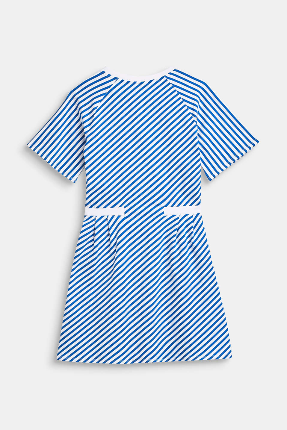 Striped stretch jersey dress, LCINFINITY BLUE, detail image number 1