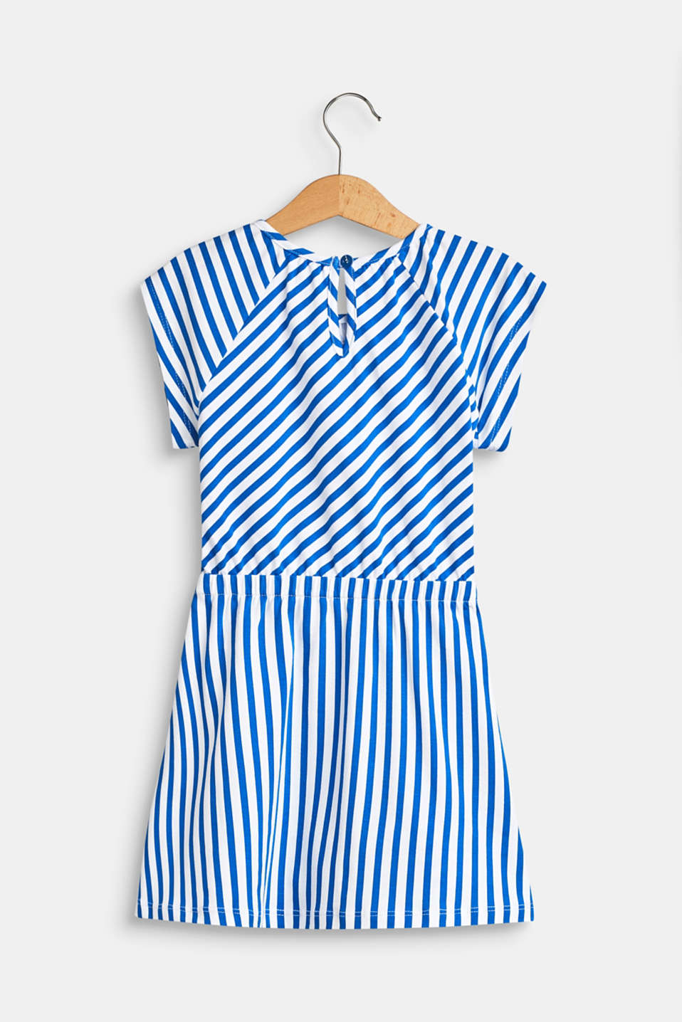 Striped jersey dress with a sequin motif, LCINFINITY BLUE, detail image number 1