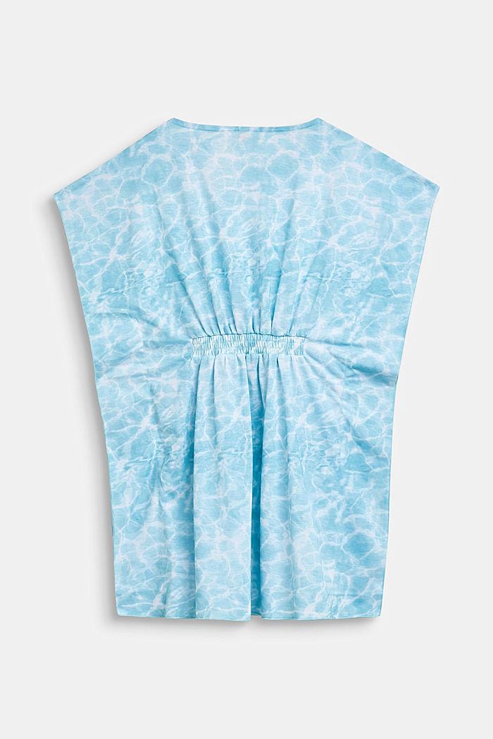 Tunika-Kleid im Batik-Look, ICE BLUE, detail image number 1