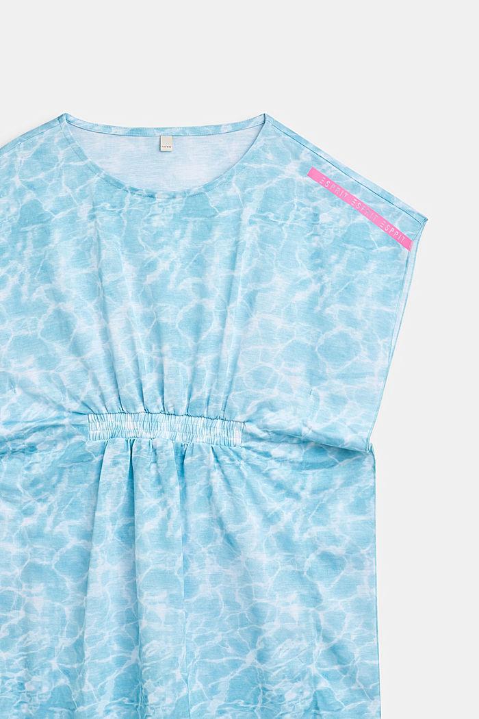 Tunika-Kleid im Batik-Look, ICE BLUE, detail image number 2