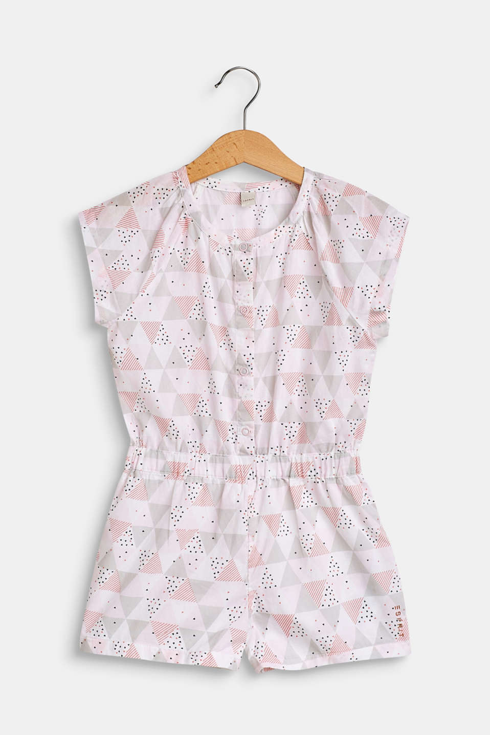 Esprit - Patterned jumpsuit in 100% cotton