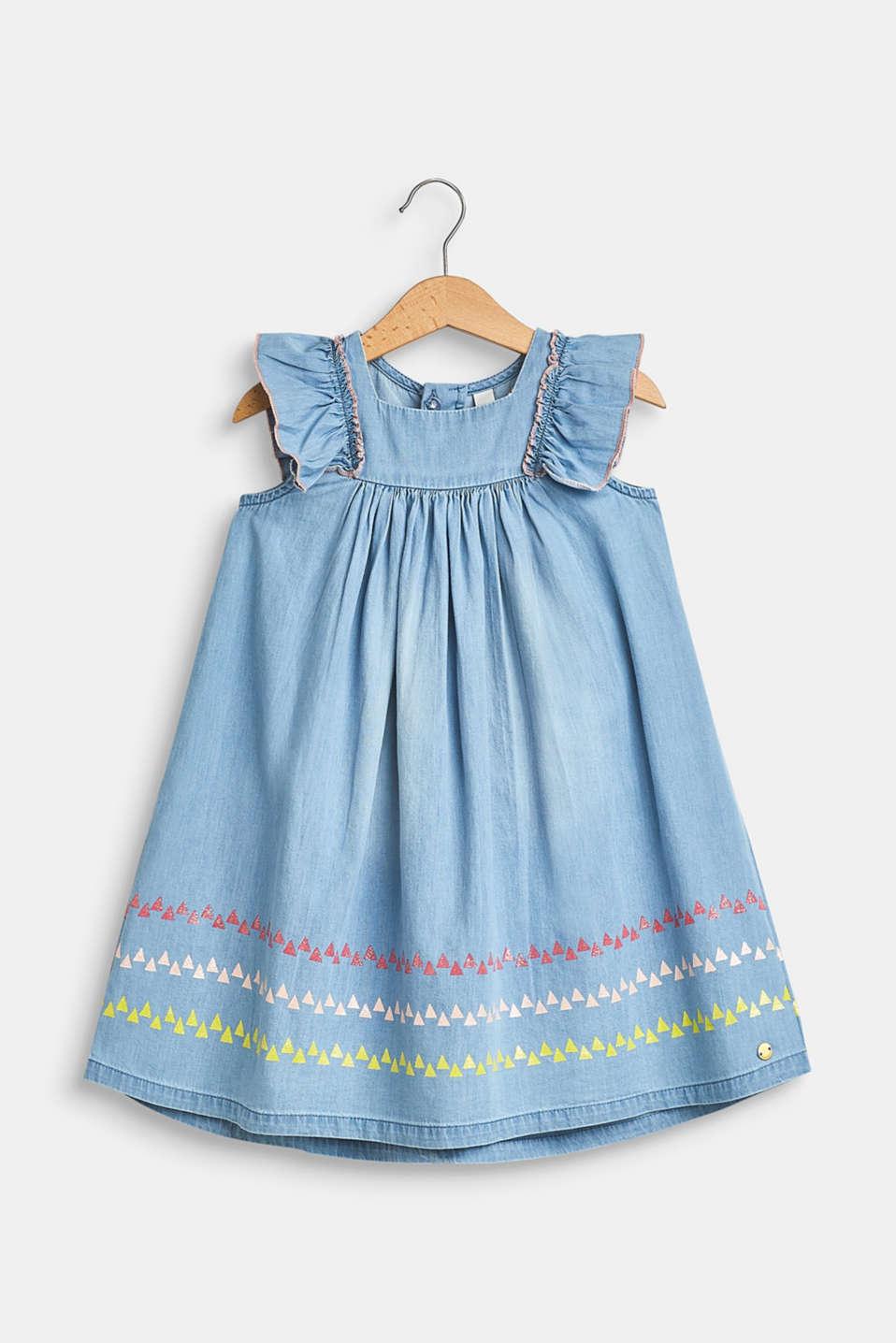 Dresses denim, LCBLUE LIGHT WAS, detail image number 0