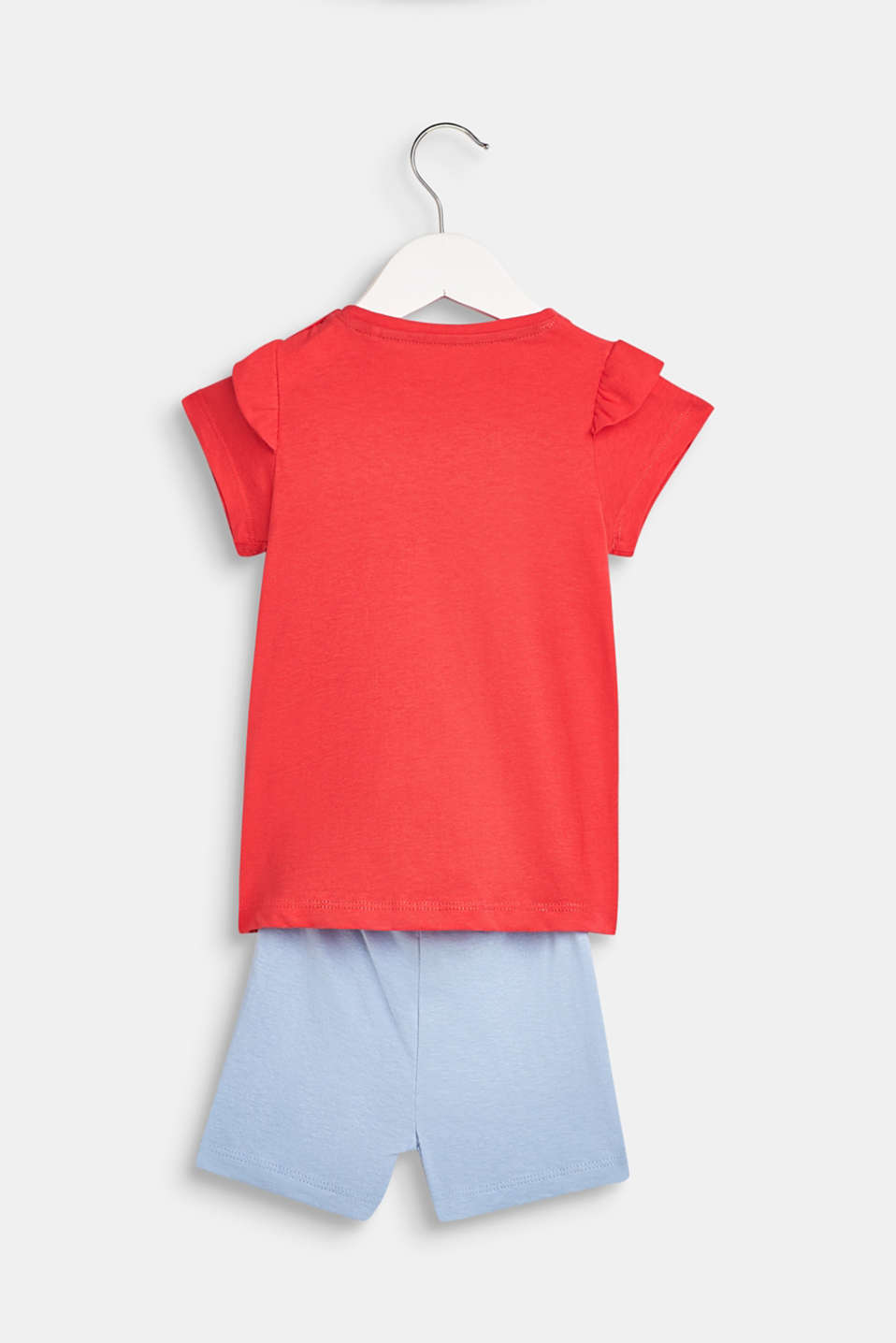 T-shirt and shorts set, 100% cotton, LCWATERMELON, detail image number 1