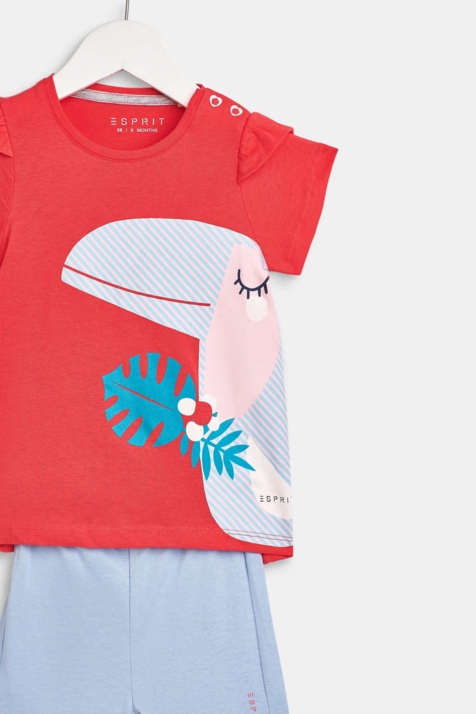 T-shirt and shorts set, 100% cotton, LCWATERMELON, detail image number 2