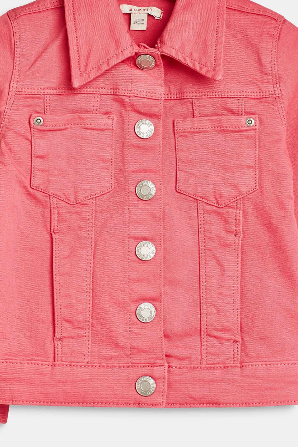 Jackets outdoor denim, LCDARK PINK, detail image number 2