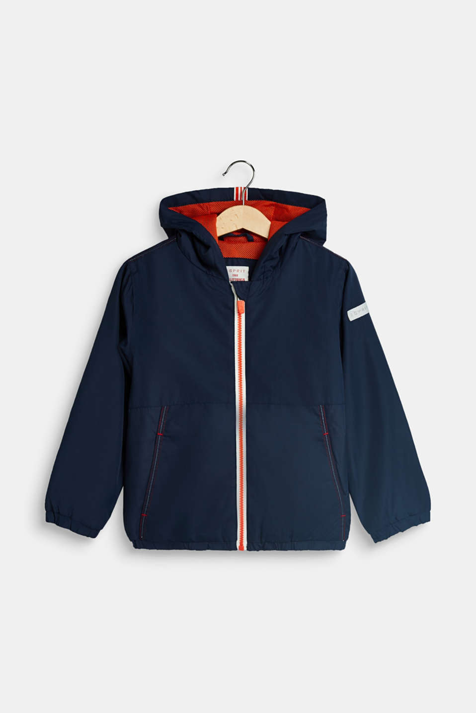 Esprit - Lightly padded jacket with racing stripes