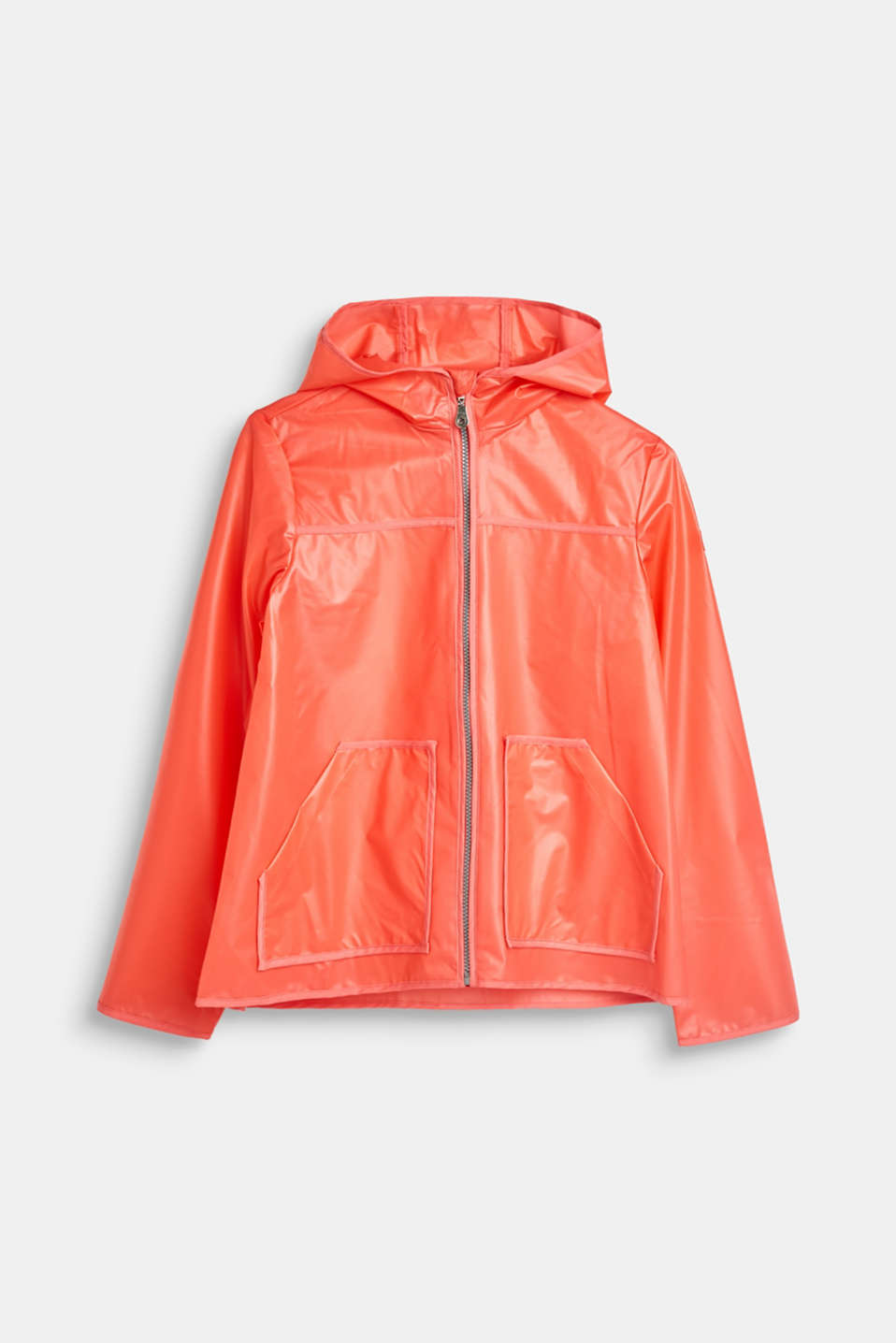 Esprit - Rain jacket with hood