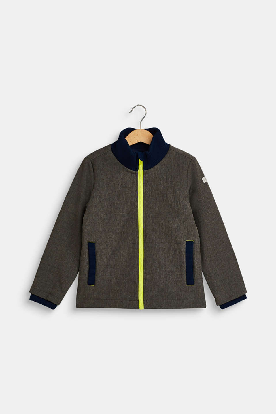 Esprit - Softshell jacket with fleece lining
