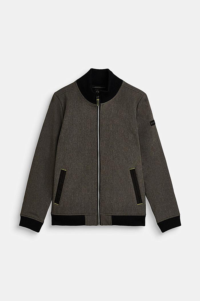 Softshell jacket with fleece lining