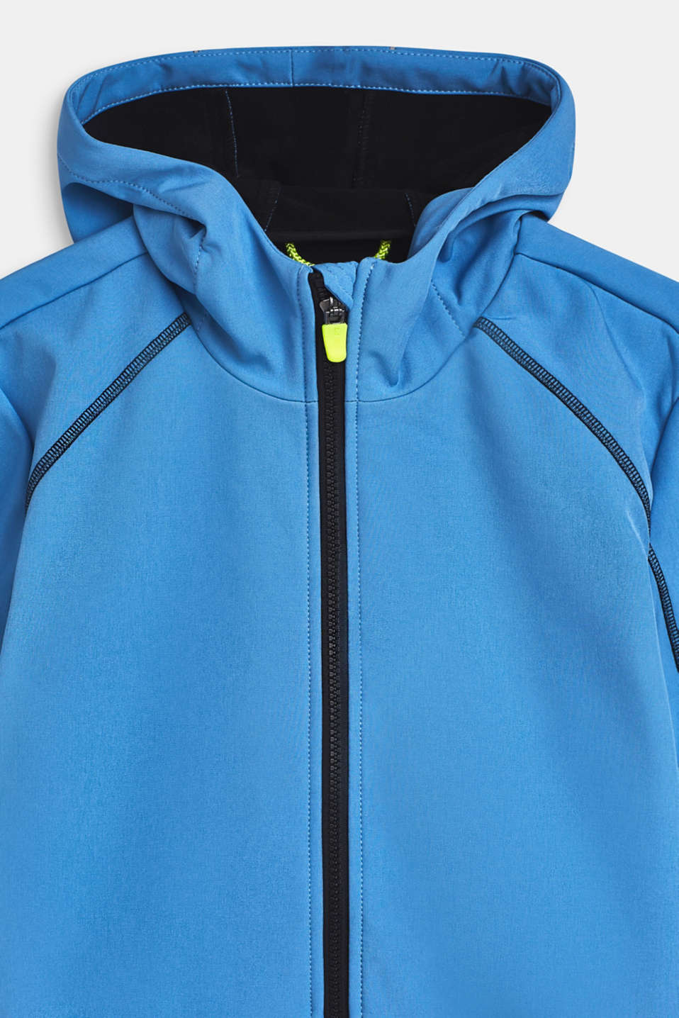Softshell jacket with a hood, LCAZUR BLUE, detail image number 3