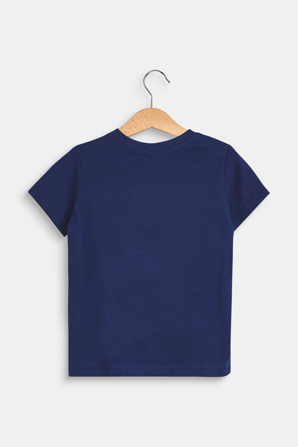 T-shirt with a frog print, 100% cotton, LCMARINE BLUE, detail image number 1
