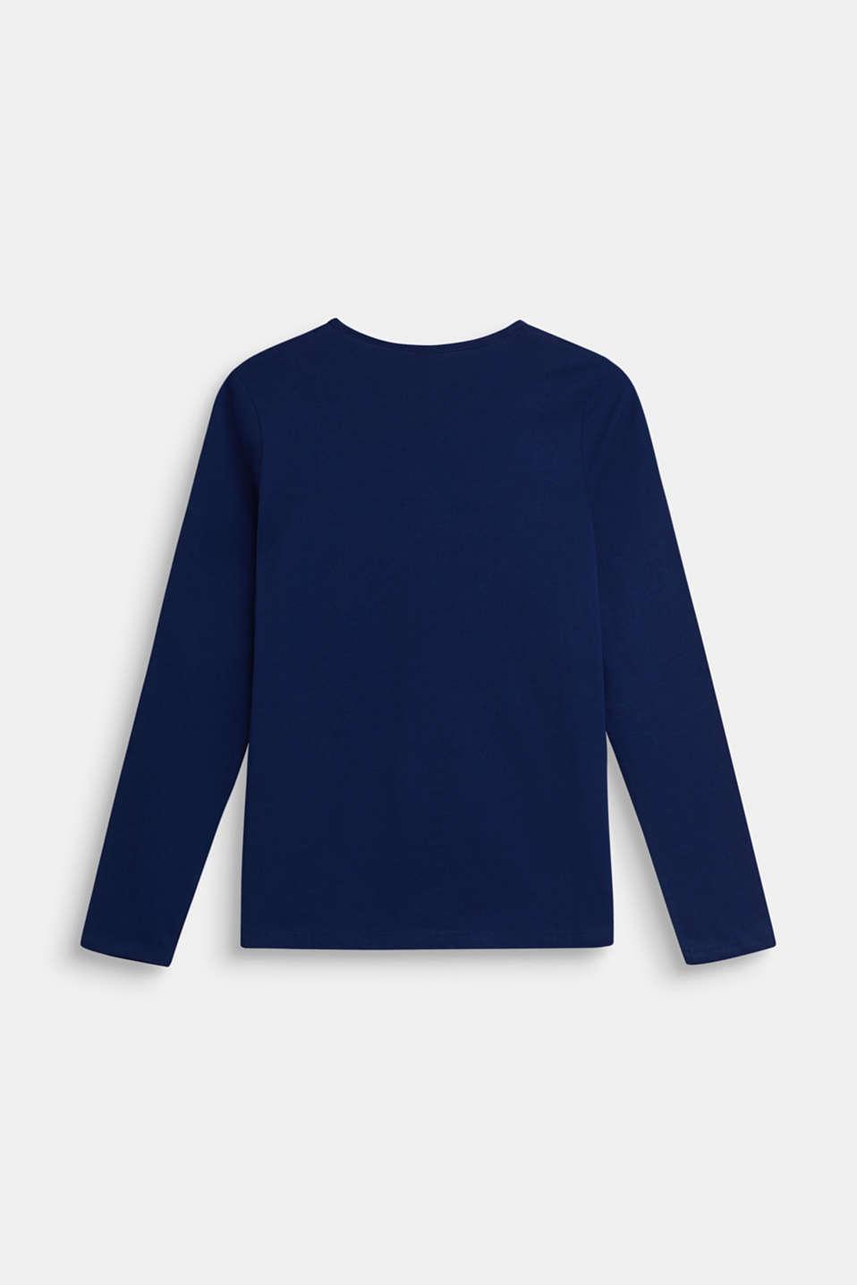 T-Shirts, LCMARINE BLUE, detail image number 1