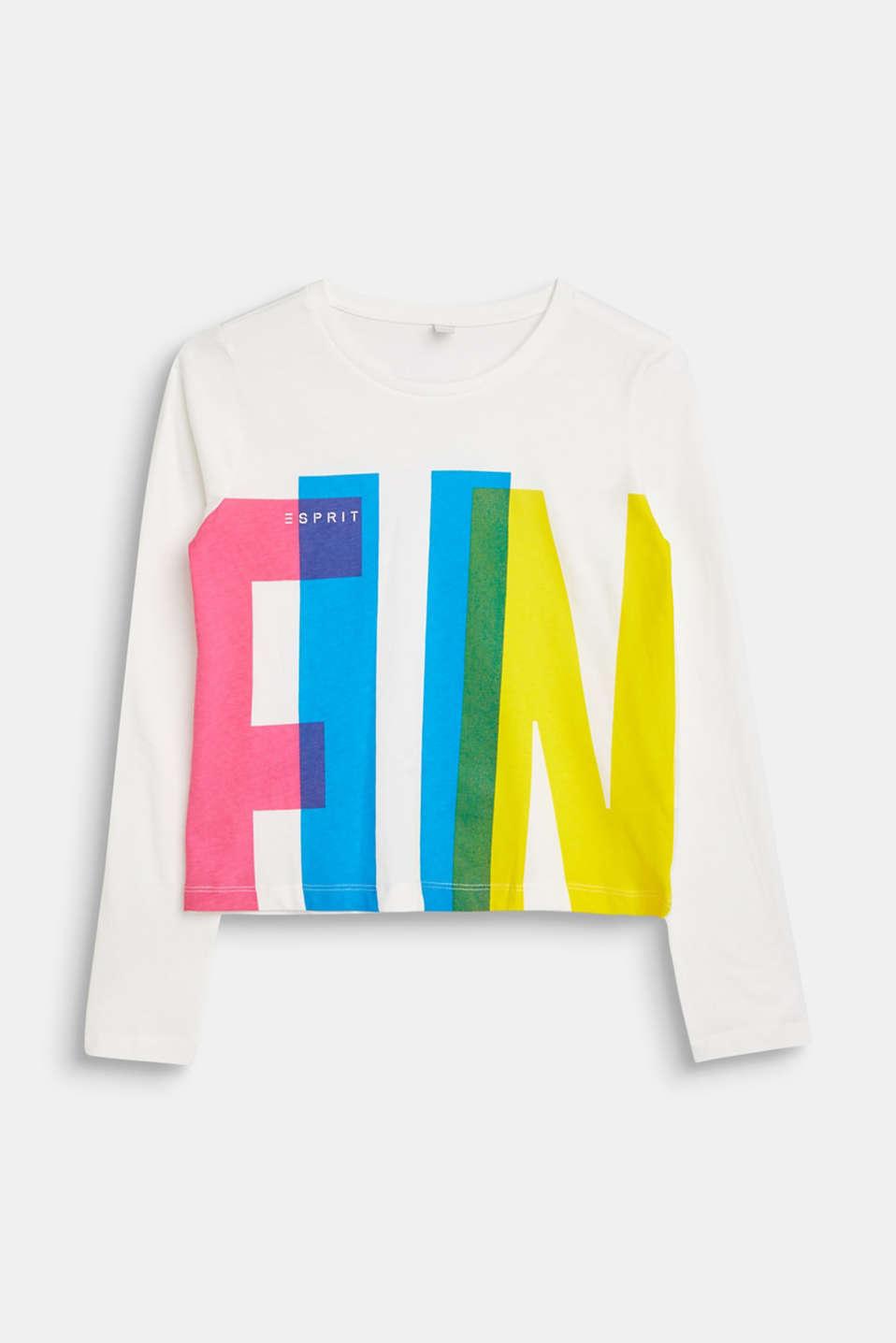 Fashion T-Shirt, LCOFF WHITE, detail image number 0