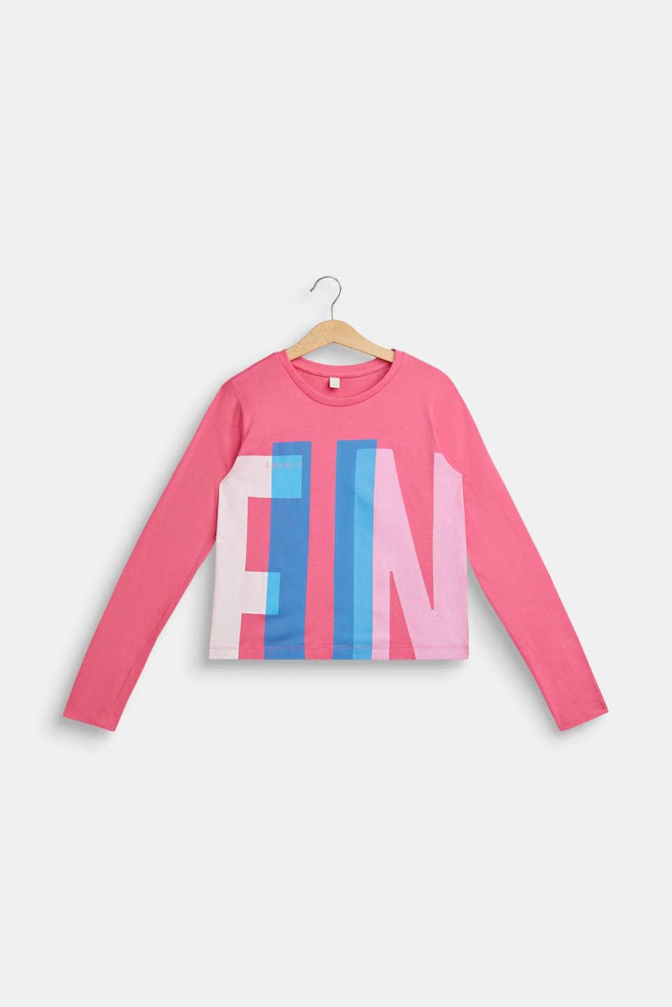 Fashion T-Shirt, LCDARK PINK, detail image number 0