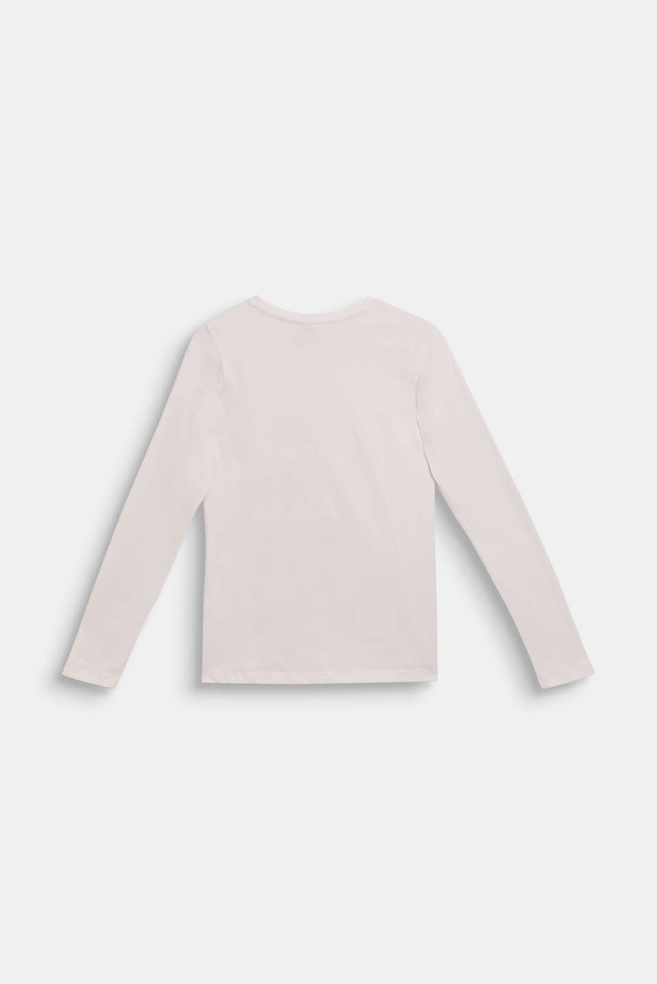 Long sleeve top with a glitter print, LCTINTED PEARL, detail image number 1
