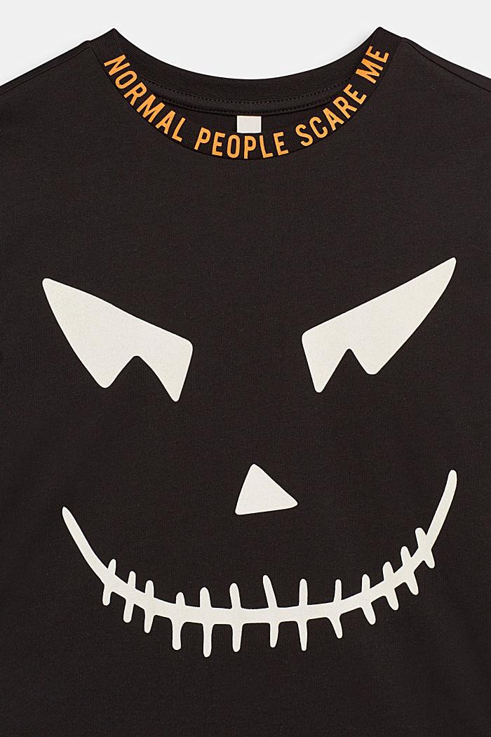 Camiseta de manga larga FLUORESCENTE, BLACK, detail image number 2