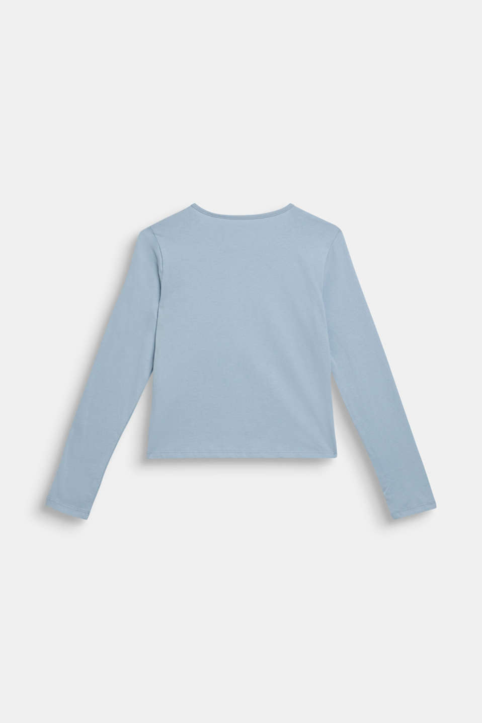 Long sleeve top with reversible sequins, LCGREY BLUE, detail image number 1