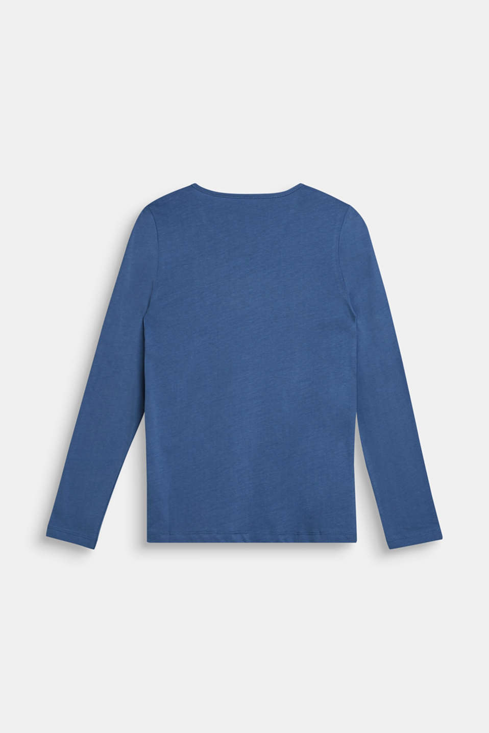 Long sleeve top with reversible sequins, LCDUSK BLUE, detail image number 1