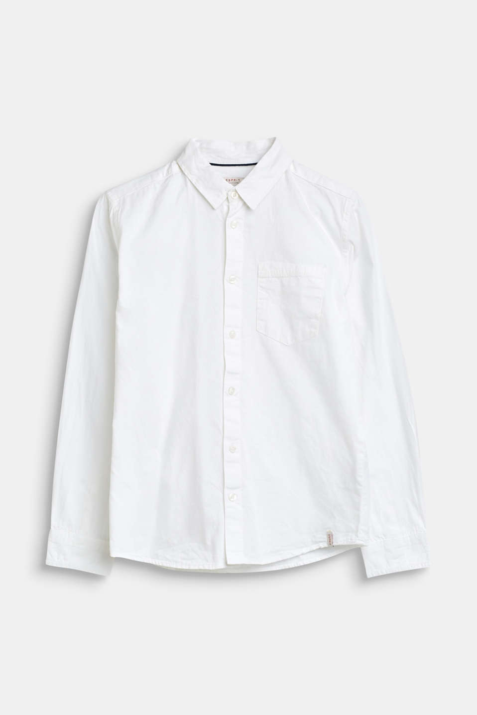 Esprit - Basic shirt in 100% cotton