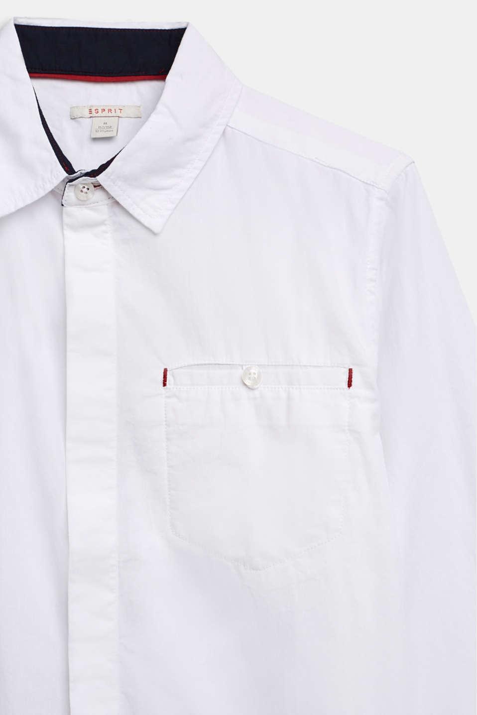 100% cotton shirt, LCWHITE, detail image number 2
