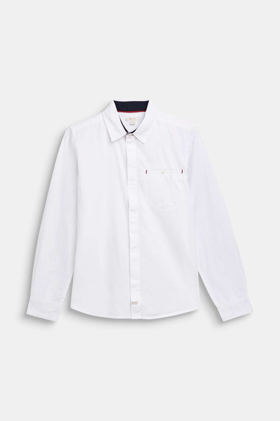 100% cotton shirt, LCWHITE, detail image number 0