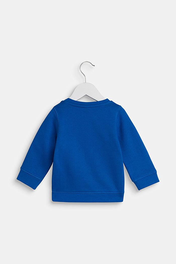 Sweatshirt met sportmotief, 100% katoen, LCBRIGHT BLUE, detail image number 1