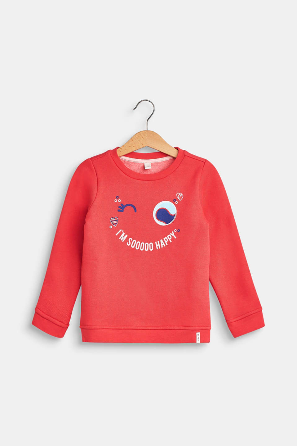 Statement print sweatshirt, STRAWBERRY, detail image number 0