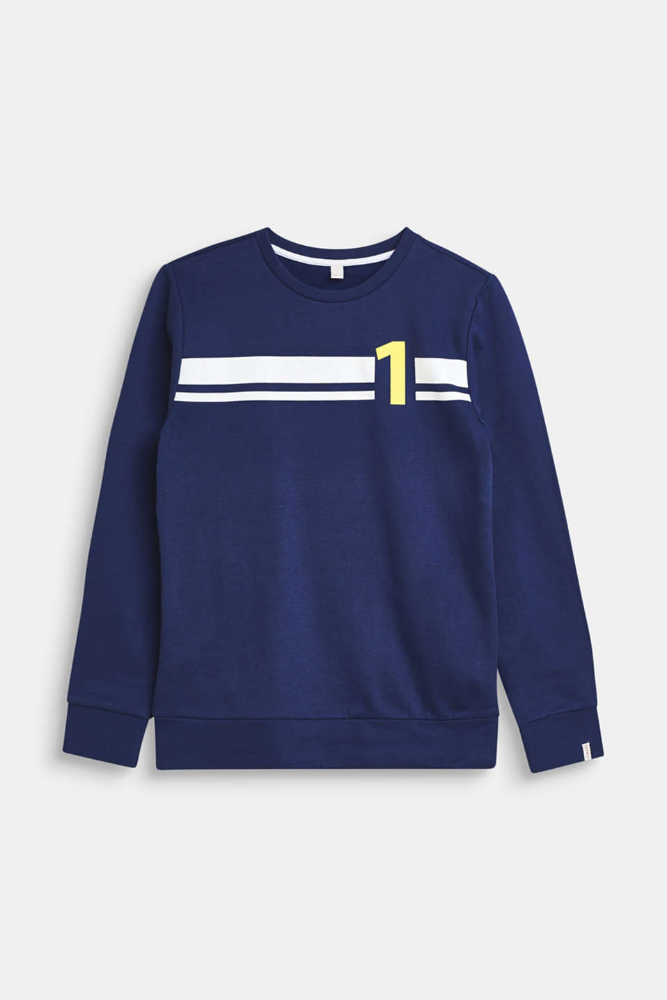 Esprit - Sweatshirt in 100% cotton