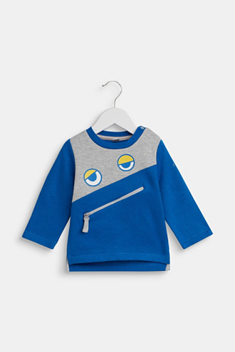 Sweatshirt with an eye print
