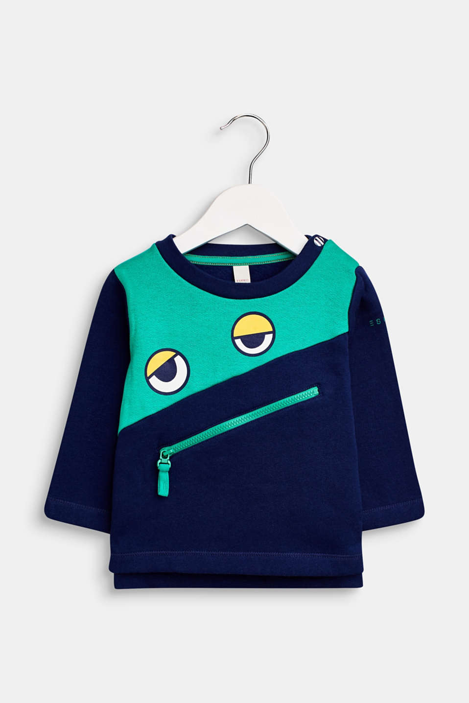Esprit - Sweatshirt with an eye print