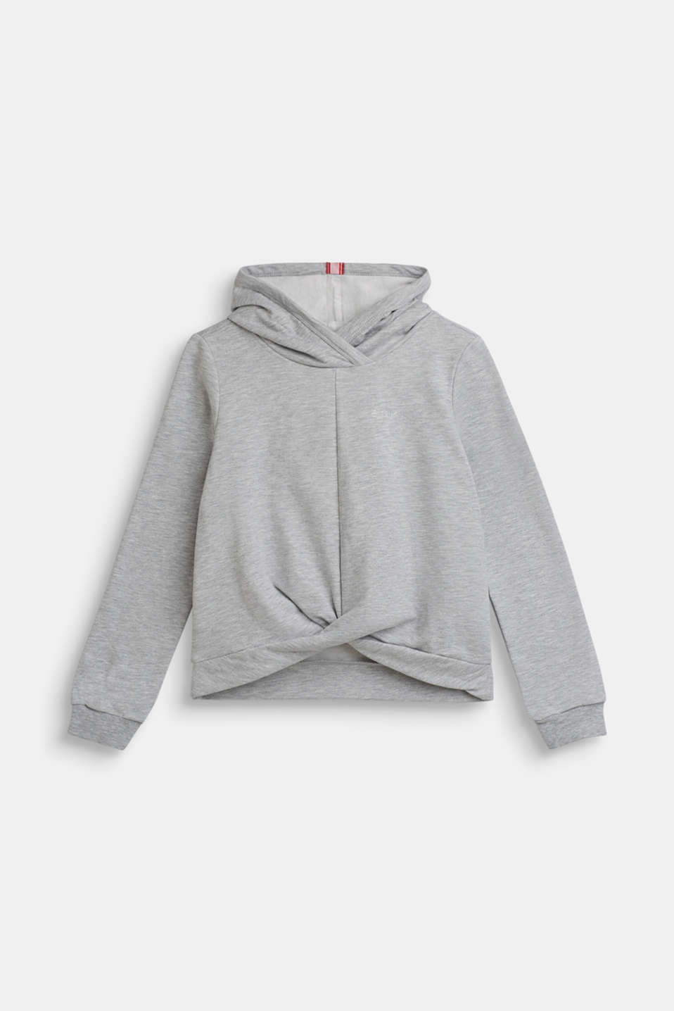 Sweatshirts, LCHEATHER SILVER, detail image number 0