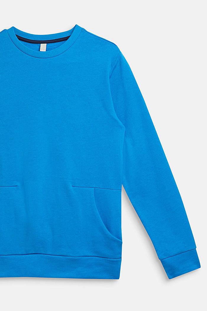 Logo print sweatshirt, 100% cotton, LCSPARROW BLUE, detail image number 2