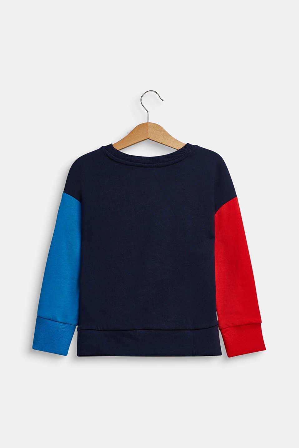 Sweatshirts, LCNAVY, detail image number 1