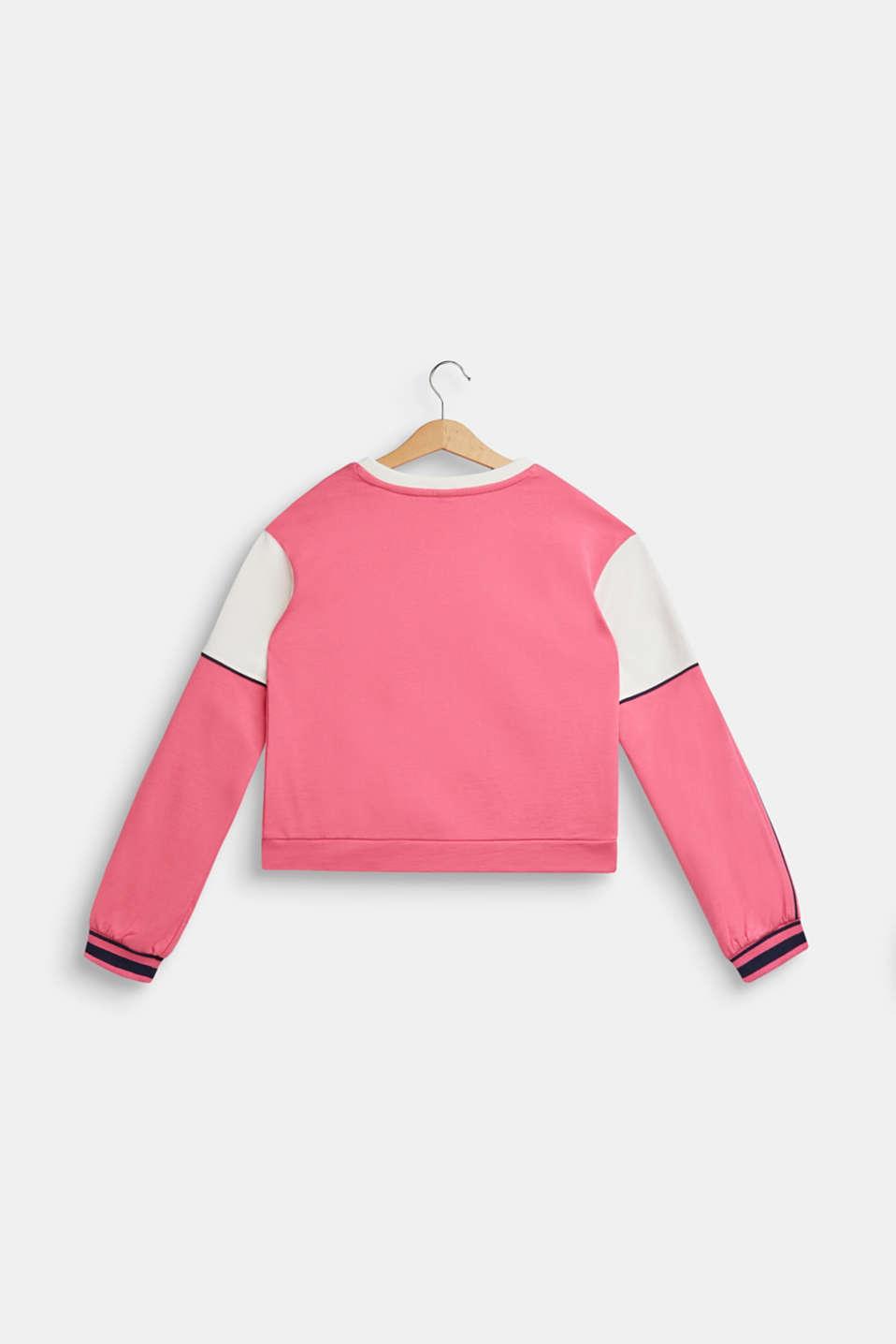 Sweatshirt, LCDARK PINK, detail image number 1