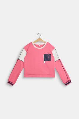 Sweatshirt, LCDARK PINK, detail