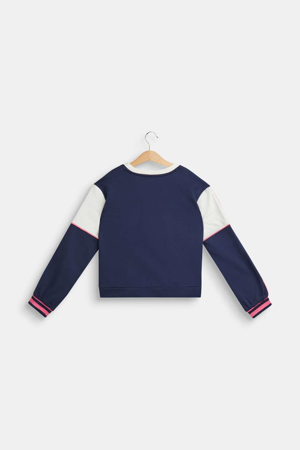 Sweatshirt, LCNAVY, detail image number 1