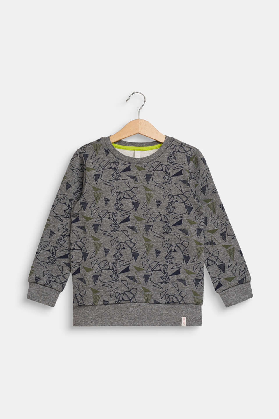 Esprit - Sweatshirt with a cool graphic bear print