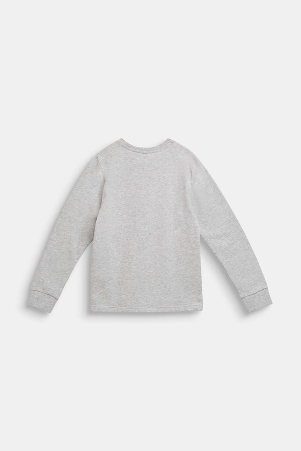 Statement print sweatshirt, LCHEATHER SILVER, detail image number 1